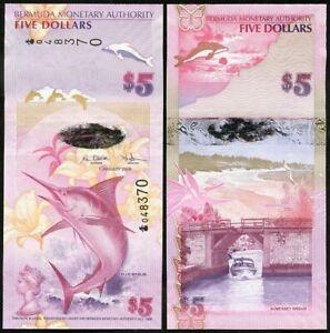 Bermuda - 5 Dollars 2009 UNC P. 58 Lemberg-Zp