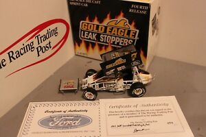 1997 Jeff Swindell Gold Eagle 1/25 GMP Diecast Sprint Car Autographed