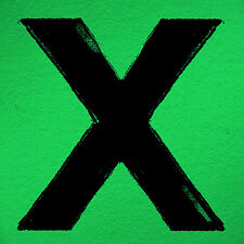 Ed Sheeran X CD 12 Track Still European Asylum 2014