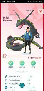 Pokémon Go account shiny rayquaza shiny darkrai dialga kyurem zapdos