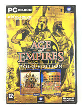 Age of Empires 1 + The Rise of Rome Expansion Jeu Sur PC Gold