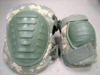 Pre-owned ACU Digital Camouflage Pair Knee & Elbow Pads 8415-01-F00-2100