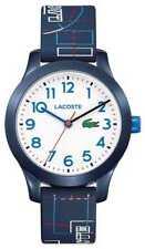 Lacoste 12.12 Witte Wijzerplaat Kinder Blauwe Band 2030008 Horloge