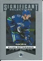 2018-19 UD Synergy ELIAS PETTERSSON Significant Selections #SS-15 Rookie