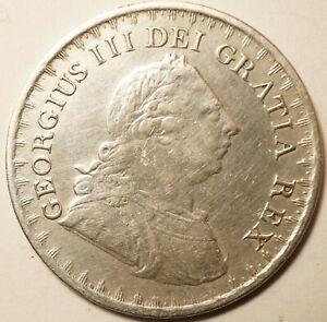 GRANDE-BRETAGNE : ASSEZ RARE 3 SHILLINGS ARGENT BANK TOKEN 1811