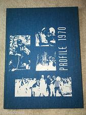 1970 Profile Yearbook John F. Kennedy High School Denver Colorado Genealogy JFK
