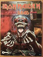 Iron Maiden A Real Dead One Guitar Tab Tablature Sheet Music Songbook Spartiti