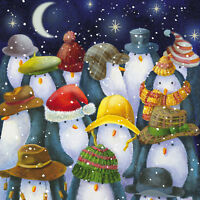 """XC-161445 Tenovus Cancer Care Charity """"Welsh"""" Christmas Cards - 10 per pack"""