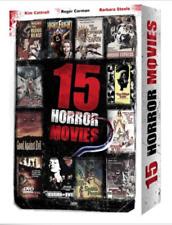 15movie DVD NIGHTFRIGHT She BEAST Horror Express BEE GIRLS Snake People TERROR