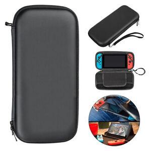 Black Slim Armor EVA Hard Travel Case Cover Carrying Tough For Nintendo Switch