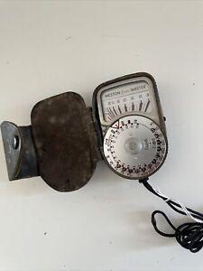 Sangamo Weston Vintage Exposure Meter No Invercone