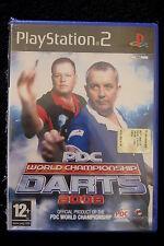 PS2 : PDC WORLD CHAMPIONSHIP DARTS 2008 - Nuovo, risigillato ! Gioco ufficiale !