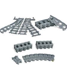 AUSINI 30PCS Railroad Train Tracks Building Block Toys Set