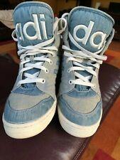 huge selection of 5a6fa 9d9b6 Adidas Jeremy Scott Instinct Hi denim mens size 10.5 shoes