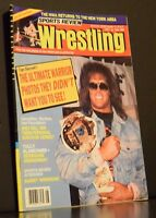 Sports Review Wrestling Magazine August 1990