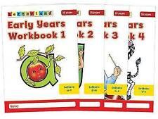 Early Years Workbooks: No. 1-4 (Letterland), Wendon, Lyn, Fidge, Louis, New Book