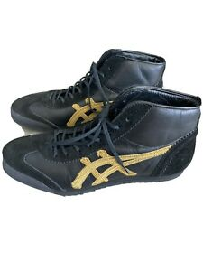Onitsuka Tiger Mexico Mid Runner Deluxe Size Men 6.5US RARE Made In JAPAN