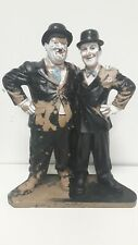 Vintage Laurel And Hardy Extra Large Resin Figures