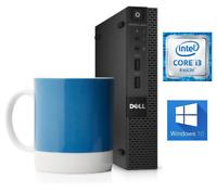 Ultra Small Dell 9020 Tiny Desktop PC Core i3 Wifi Bluetooth HDMI Windows 10 CD
