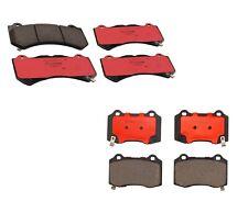 Front & Rear Brembo Ceramic Brake Pads Set Kit for Dodge Charger SRT 392 Hellcat