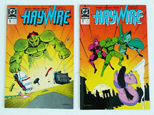 Haywire DC Comic Book Lot 10 & 12