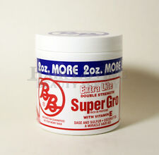 BB Extra Lite Double Strength Super Gro, Rich in Proteins with Vitamin E, 6 oz.