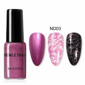 Nail Art Stamping Polish Printing Polish Varnish Gel Colorful Art Decoration New