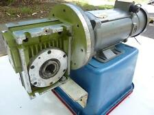 Electric Reduction Gearbox Drive DC Motor .75 KW Baldor Motor Type PM3435P