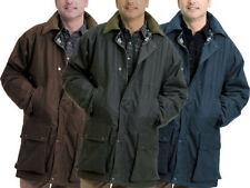 Abrigos y chaquetas de hombre marrón 100% algodón talla L