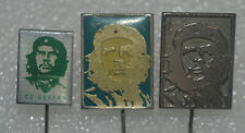 Che Guevara revolutionary guerrilla leader marx marxist vintage pin badge lot