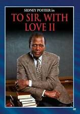 TO SIR WITH LOVE 2 NEW DVD