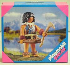 Stone Age Man Playmobil Special 4592 V. `01 TO MAMMOTH CAVE DINOSAURS NIP