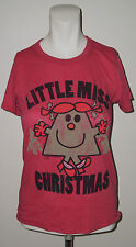 JUNK FOOD CLOTHING RED LITTLE MISS CHRISTMAS T SHIRT SIZE SMALL NEW WOUT TAGS