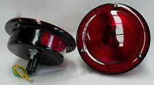 WILLYS JEEP CJ2 CJ3 CJ4 CJ5 CJ6 TAIL LIGHTS LAMPS 1946 - 1975 PAIR 024