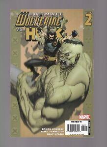 ULTIMATE Wolverine Vs. Hulk #2  - MARVEL COMICS / 2006 /