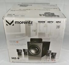 NEW Morentz Audio MZ-9 Platinum Series 5.1 HD 1500W Home Theater System