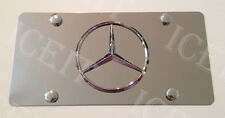 Mercedes Benz Front Plate Mirror Stainless Steel Heavy Duty License Vanity Plate