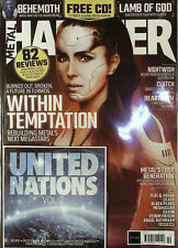 Metal Hammer Feb 2017 Iron Maiden Book 2000ad Artwork Posters Mix CD Cover No3