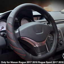D Type Car Steering Wheel Cover For Nissan Rogue 2017 2018 Rogue Sport 2017 2018
