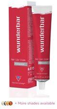 Wunderbar Permanent Hair Color Cream 60ml.Various Colours/shades/professional