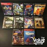 Sony PlayStation 2 Game Lot (10 Games): Sly 2, Motor Mayhem, Ghost Recon, & More