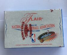 2004-05 Fleer Flair Factory Sealed Basketball Hobby Box