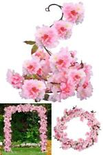 Wedding Party Artificial Hanging Silk Plants Direct Cherry Blossom Arrangement
