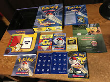 POKEMON THUNDERSTORM GIFT BOX WITH ACCESSORIES AND DECK/ REAL PICS /WRONGWAY052
