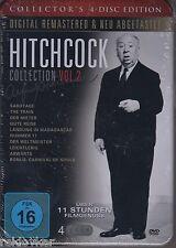Hitchcock Collection Vol. 1 - 9 Meisterwerke auf 4 DVDs (Blechdose, NEU!)
