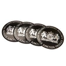 "4x 56mm 2.2"" JP Junction Produce Car Wheel Center Hub Caps Emblem Decal Sticker"