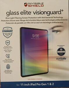 Zagg Glass ELITE VisionGuard+ iPad Pro 11-inch BRAND NEW