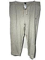 Polo Ralph Lauren Cotton Blend Fleece Sweat Mens Pants Alaskan Heather 3XB. NWT