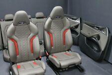 BMW X4 M F98 Innenausstattung Sitze Sportsitze Ausstattung Memory Leder Merino