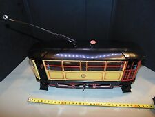 VINTAGE 1923 TRAM LITHOGRAPHY TIN TOY 1993 REPRO PAYA #849 RARE LARGE SCALE